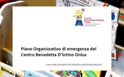 Piano Organizzativo di emergenza del Centro Benedetta D'Intino