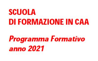 Scuola di Formazione in Comunicazione Aumentativa Alternativa anno 2021